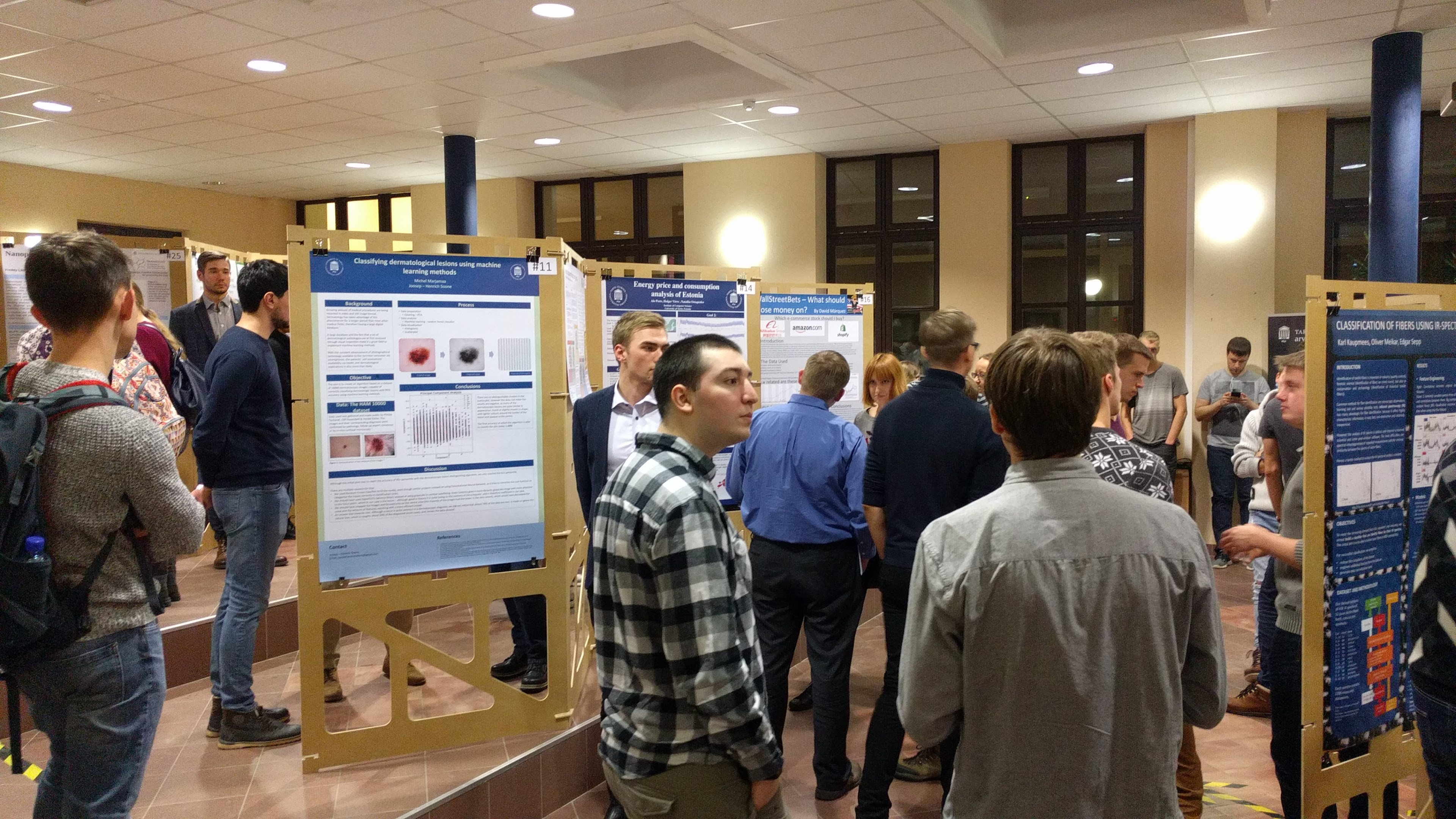 Poster session 2018