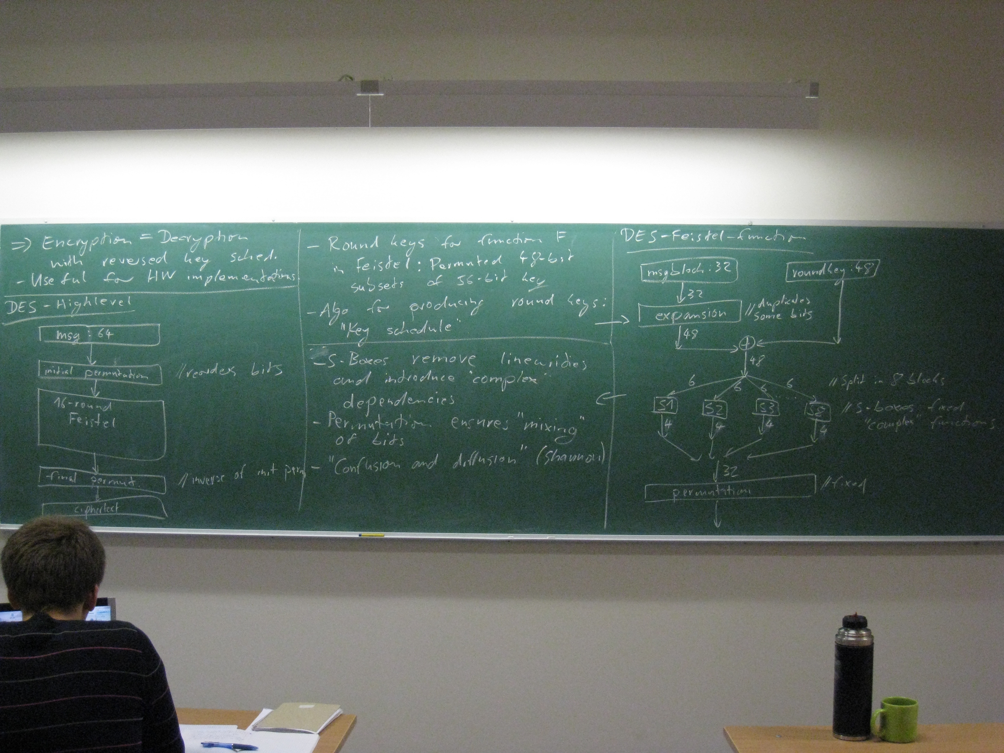 Quantum Cryptography - Black board photos - 2011-09-19_8900 jpg